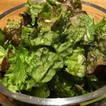 51466196 - 小鉢5種:グリーンサラダ・カブとアスパラ・きんぴら・ニンジンのツナ和え・マカロニサラダ