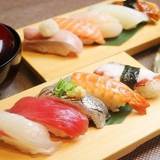 【新鮮海の幸】本格板前寿司