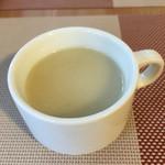 Cafe T - プレートランチのかぶスープ