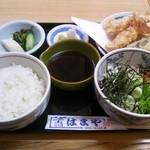 はまや - 天ぷら定食