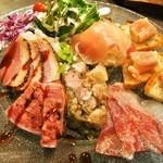 肉バル2986 - タパス盛り合わせ6種