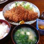 とんかつ 吉川 - ロースカツ定食
