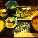 魚がし料理 竹の子 - ランチ さんま