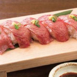 常陸牛炙り寿司