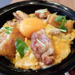 比内地鶏生産責任者の店 本家あべや - 比内地鶏極上親子丼