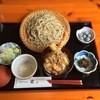 手打ちそば・梁 - 料理写真:ランチセット(もりそば+ミニ天丼)