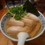鯛だしそば・つけ麺 はなやま - 鯛だし塩そば チャーシューそば