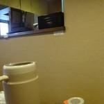 11:00~14:00小ライスサービスの小さな張り紙