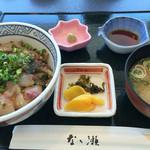 なゝ瀬 - りゅうきゅう丼(1,280円)