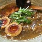 51477146 - 魚介出汁の風味が美味いスープ