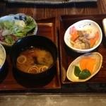 米寿 - メインの焼魚以外の御膳