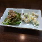 立ち喰い寿司 弁慶 - 酒のアテ的なもの
