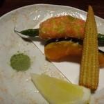 Ishibashi - ◆揚げ物3種・・可もなく不可もなく・・