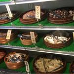 湘南浜焼きセンター 海女小屋 - 干し物や野菜もあるよ!