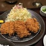 とんかつ和幸 - 一口ひれかつ御飯(¥1080)