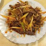 中国家庭料理 楊 - なんか砂肝の辛いの