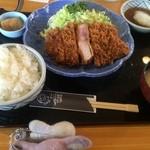 51479749 - 和風とろかつセット(大盛)【料理】