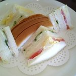 Toresuefubishi - tres F.B.C.●サンドセット②サンドイッチ