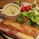 ポワンタージュ - サンドイッチプレート