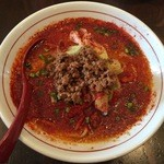 山嵐 - 赤スープ、850円です。