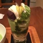 日本茶専門店 茶倉 - ミニ抹茶パフェ