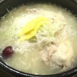 韓食 古家 - あつあつ参鶏湯