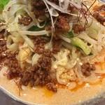 麺屋りゅう - 冷やし担々麺(並)(アップ)
