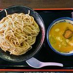 麺や大舎厘 - 焼き煮干しつけ麺(大盛り)(2016年5月)