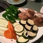 燔々亭 - 野菜