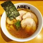 ラーメン ABE's - 丸鶏ラーメン(チャーシュー増し)