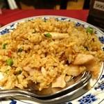 51484518 - エビと鶏肉のXO炒飯