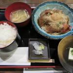 51484760 - 胡麻ブリ定食 650円