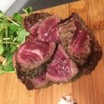 肉ビストロ G&G MARKET - 牛カイノミのステーキ(ディナー限定)