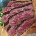 肉ビストロ G&G MARKET - 和牛リブロースのステーキ(ディナー限定)