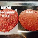 肉ビストロ G&G MARKET - 肉質重視のパティ