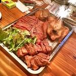 肉ビストロ G&G MARKET - Birthday肉プレート(要予約)