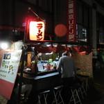 舜 - お店は天神の三菱ダイアモンドビルの横手にあります。