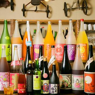 全国から取り寄せた【50種類】の梅酒♪女子歓喜必至!!
