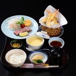 日本料理「むさしの」 - 料理写真:お子様御膳・ステーキ