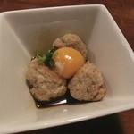 スシ アン ヨカイチ - 鶏団子のタレ焼き