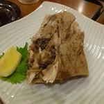 馬肉料理・まぐろと日本酒の店 赤味処馬ぐろ - まぐろかま焼き