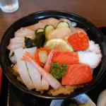 キッチンしま - 海鮮丼