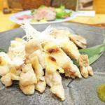 51490246 - 広島高宮鶏の藻塩焼き