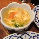 ピーマイ - たまごスープ
