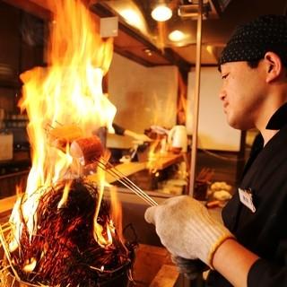岡山といえば鰆!新鮮な鰆をわら焼きにした極上の一品です。