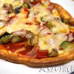 グルテンフリーカフェ リトルバード - ピザ