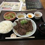 51495709 - 牛タン焼き定食   850円