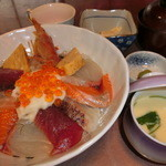 町屋 清水庵 - 料理写真:海鮮丼