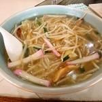 麺処 梅花皮亭 - とろ味ラーメン!