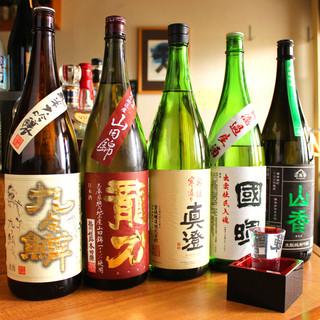 おいしい日本酒を取り揃えております!